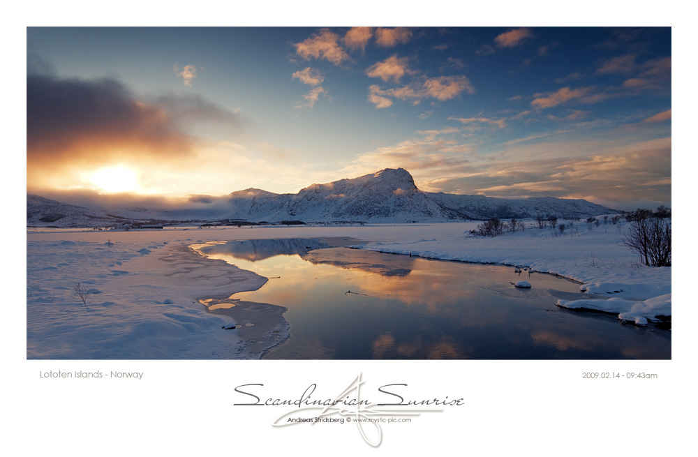 Scandinavian Sunrise - Norway