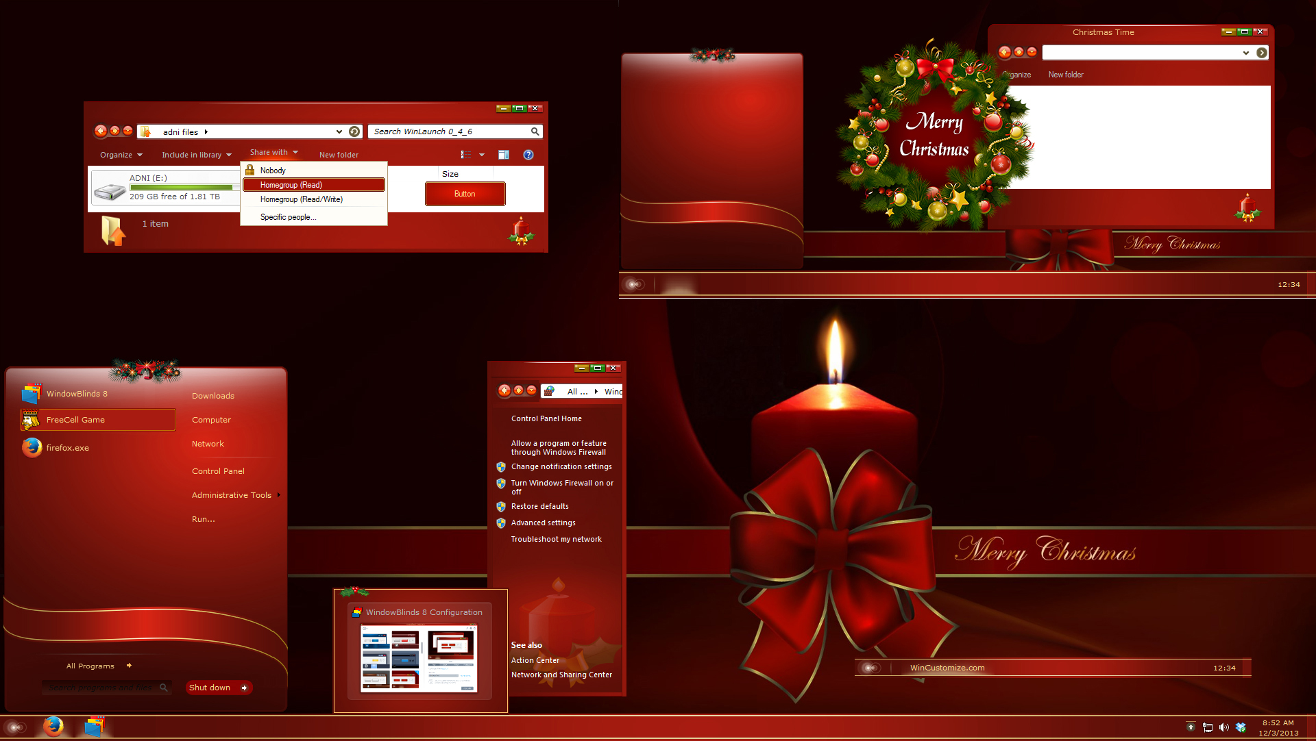 Christmas Time - [Premium Theme]