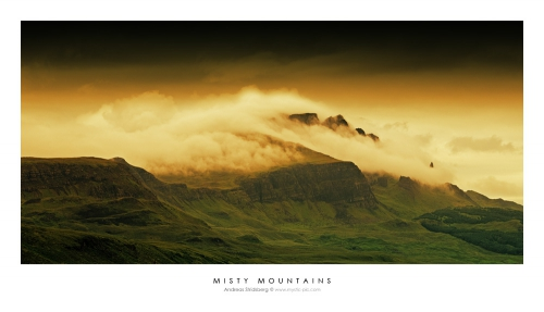 Misty Mountains - Scotland
